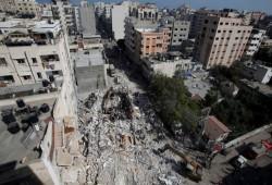 ارتفاع عدد شهداء العدوان الصهيوني على غزة إلى 197 بينهم 58 طفلا