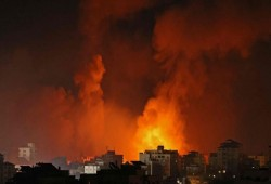 ارتفاع عدد ضحايا العدوان على غزة إلى 200 شهيد بينهم 58 طفلا و34 سيدة