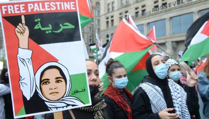 بسبب إغلاق الميادين.. مصريون ينظمون وقفة إلكترونية دعماً لفلسطين