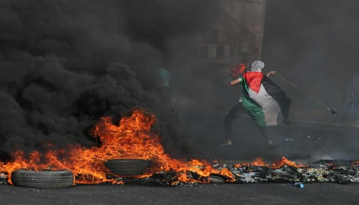 شهيد وعشرات الجرحى في مواجهات مع قوات الاحتلال بالضفة الغربية