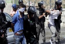 مواجهات شديدة بين الفلسطينيين و الاحتلال الصهيوني في القدس