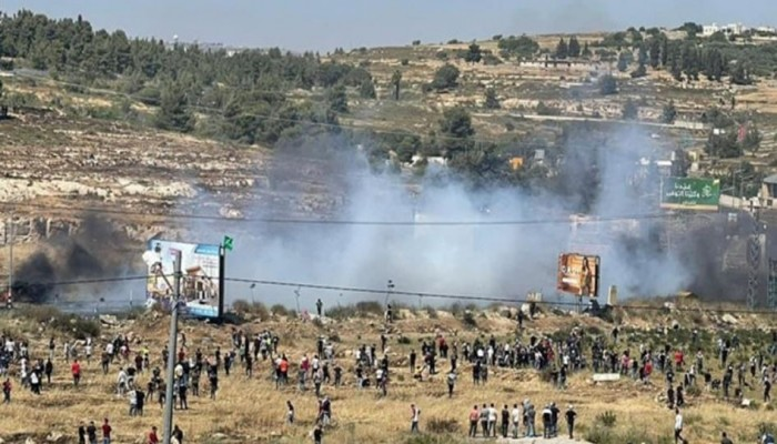 شهيد فلسطيني وعشرات الإصابات بمواجهات مع الاحتلال بالضفة