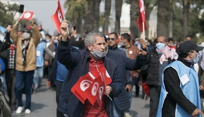 """تونس.. ضحايا نظامي """"بن علي"""" و""""بورقيبة"""" يعتصمون للمطالبة بتعويضات"""