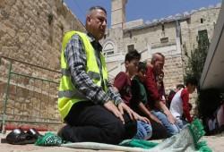 مشروع تهويدي لتغيير مدخل المسجد الإبراهيمي