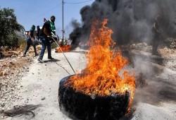 شهيد فلسطيني وإصابات خلال مواجهات مع الاحتلال في جبل صبيح