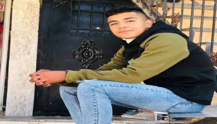 تشييع جثمان الفتى الفلسطيني الشهيد محمد حمايل
