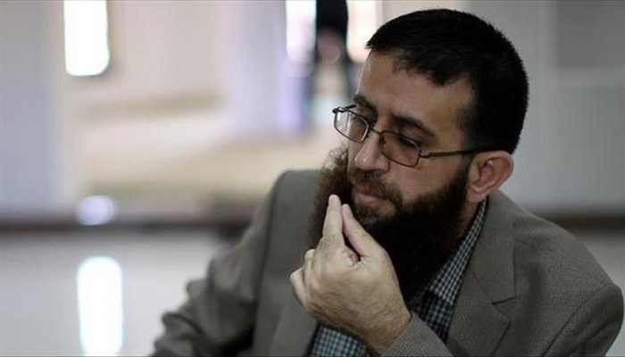 وقفة لدعم الأسير الفلسطيني خضر عدنان المضرب عن الطعام بسجون الاحتلال
