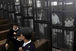 قضاء الانقلاب يحكم بإعدام 4 بقضية رابعة كانوا معتقلين قبل المجزرة بشهر