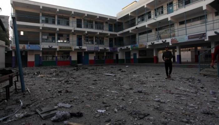 دعوة لدعم مؤسسات تعليمية استهدفها الاحتلال بغزة