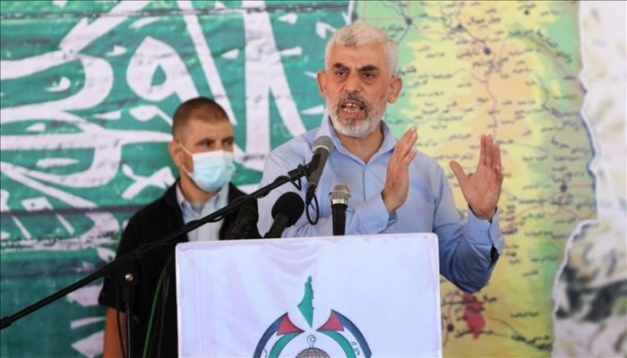 """السنوار يحذر الصهاينة ويصف اجتماعه بممثل """"الأمم المتحدة"""" بالسيئ"""