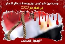 إجرام قضاء الانقلاب.. حكم بإعدام 2 من المعتقلين والمؤبد والمشدد على آخرين