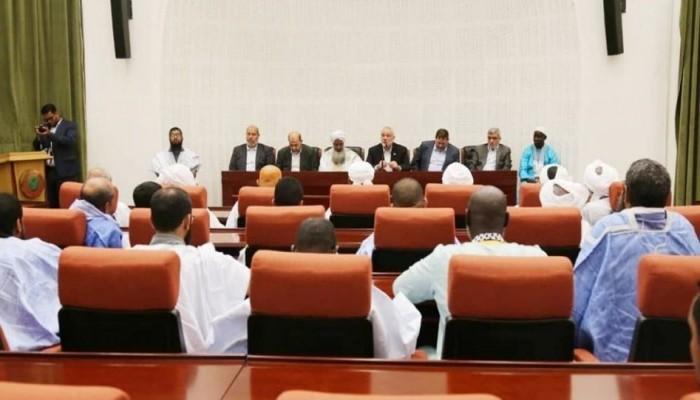 هنية يلتقي عددًا من ممثلي الأئمة والعلماء بموريتانيا