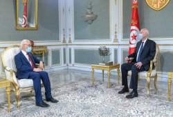 تونس.. لقاء إيجابي بين سعيّد والغنوشي بعد أشهر من الجفاء