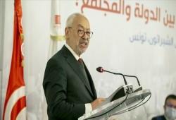 الغنوشي: برلمان تونس في حالة انعقاد ونتمسك برفض الانقلاب