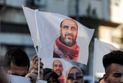مظاهرة في رام الله تندد باغتيال نزار بنات ومطالبة بمحاسبة قتلته