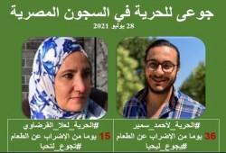 الشبكة المصرية: المضربون عن الطعام بالسجون يتعرضون لأبشع أنواع الظلم