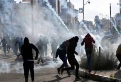 إصابات بمواجهات مع الاحتلال عقب تشييع الشهيد الطفل العلامي