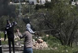 مواجهات بين الشبان وقوات الاحتلال على مدخل بلدة بيتا