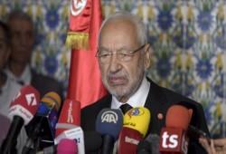 الغنوشي: متفائل بعودة الديمقراطية إلى تونس