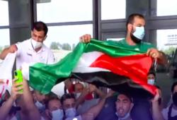 الجزائر.. احتفاء بالبطل نورين بعد انسحابه من أوليمبياد طوكيو رفضا للتطبيع