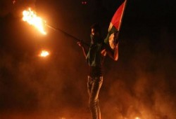 10 إصابات بمواجهات مع الاحتلال في بيتا جنوب نابلس
