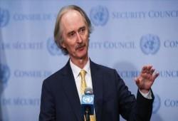 المبعوث الأممي لسورية يدعو إلى حماية المدنيين في درعا