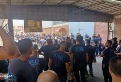 عمال شركة لورد يوقفون إضرابهم بعد التهديدات وفصل 38 منهم