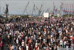 مظاهرات حاشدة في بيروت بذكرى انفجار المرفأ