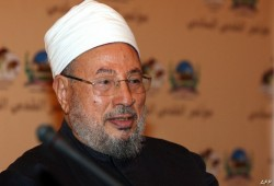 د. القرضاوي عن إعادة اعتقال 4 أسرى:  الحرية لفلسطين ولا استسلام للصهاينة