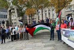 ألمانيا.. وقفة بمدينة كولون للتضامن مع الأسرى الفلسطينيين